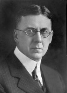 John E. Brownlee, ca. 1930, Provincial Archives of Alberta photo A2149